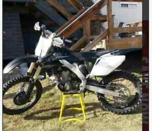 08 honda cfr250r,  located in Hinton. Need gone offers!