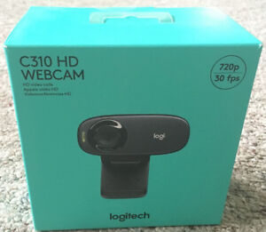 Web camera Logitech C310 HD new sealed in the box never opened