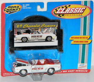 Road Champs 1/43 1969 Camaro Indy Pace Car Diecast