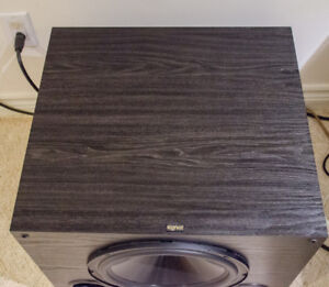 Mint condition Signet SP100 Amplified Subwoofer System