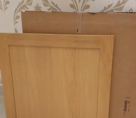 IKEA TIDAHOLM Oak Kitchen Doors - 40cm x 57cm