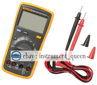 Fluke 12e Digital Multimeter Acdcdioderc Voltage Current Ohm Capacitance