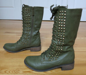 Studded Boots