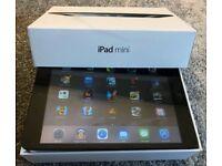 Apple iPad Mini 16gb WiFi Black. Boxed with Charger