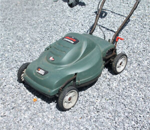 electric lawn mower.