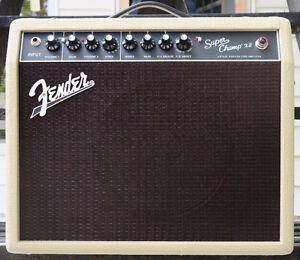 Ampli guit. Fender Super Champ x2