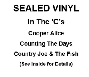 Records:Cooper Alice, Counting The Days, Country Joe & The Fish