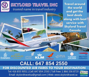 Cheap Flight Deals T: 416-855-9051
