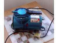 Air compressor suitable for air brushing for sale