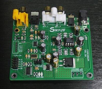 ES9038 Q2M DAC DSD Decoder Support IIS DSD 384KHz Coaxial Fiber DOP for sale  China