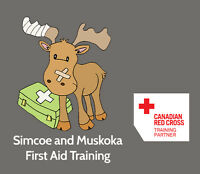 Standard First Aid and CPR/AED Recert July 17th in Barrie