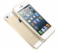 Gold iPhone 5s, 16 gb, Bell/Virgin, no contract *BUY SECURE*