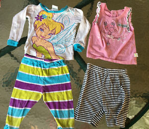 2 Disney sets 12-24 months in excellent condition