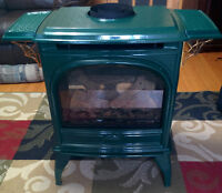 Dovre Direct Vent Freestanding Gas Stove Fireplace