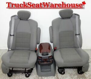Ford Truck F250 Super Duty Front Power Seats Integrated Seatbelt