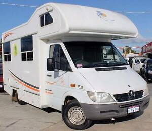 2004 SPRINTER 308 SWB 2.2L TURBO DIESEL MOTORHOME Cannington Canning Area Preview