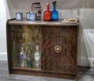 Vintage Liquor Cabinet