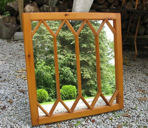 Some Unusual Window Mirrors, Mostly Antique