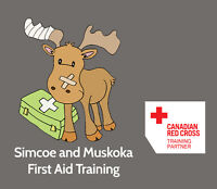 First Aid Blended Learning (Online/In Class Course) Barrie