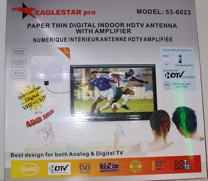 BRAND NEW AMPLIFIED EAGLE STAR HD INDOOR ANTENNA