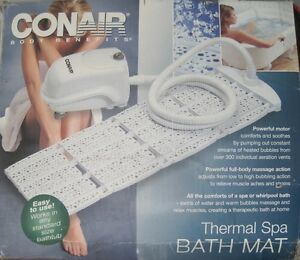 CONAIR BODY BENEFITS THERMAL SPA BATH MAT