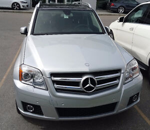2010 Mercedes-Benz GLK-Class Burl Walnut Wood Trim SUV