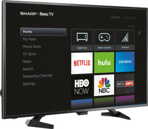 "Sharp Raku 43"" TV *BRAND NEW"