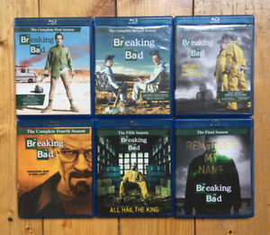 BREAKING BAD: THE COMPLETE SERIES ON BLU-RAY