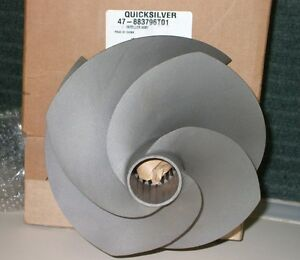 NEW MERCURY SPORT JET HI SKEW STAINLESS IMPELLER