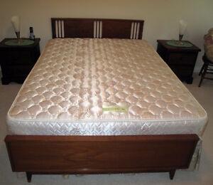 Ca. 1960 Teak Double Bed