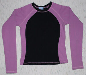 Yogini warm-up top for figure skating - Dusty Mauve and Black Kitchener / Waterloo Kitchener Area image 1