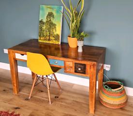 KARE Design Schreibtisch Babalou Malibu Writing desk with drawers - Gr