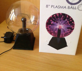 8 inch Plasma Ball ( brand new) and working.