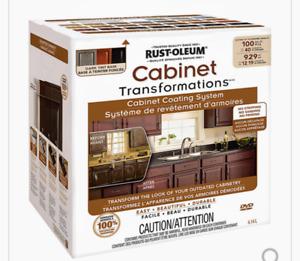 Cabinet transformations kit