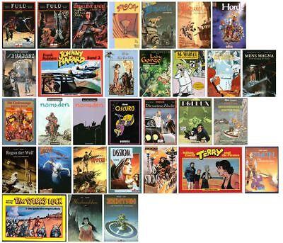 30 verschiedene SC-Alben Fantasy, Abenteuer, Krimi usw. in Topzustand !!!