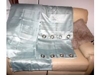 Duck egg curtains x 2 pairs