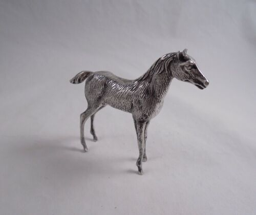 SPANISH .915 SILVER HORSE MARE FIGURINE STATUE NOT STERLING GREAT QUALITY