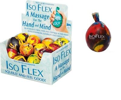 1 Isoflex sensory stress reliever ball toy autism squeeze anxiety fidget  ()