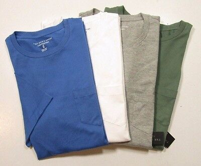 Bloomingdales Mens Pima Cotton Short Sleeve Crew Neck Pocket T Shirt