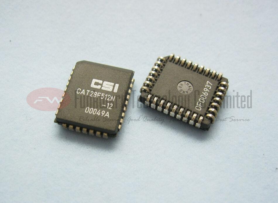 CATALYST CAT28F512N-12 CAT28F512N 28F512 64K x 8 Flash Memory PLCC32 X 100pcs