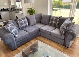 Verona Fabric Chesterfield Sofa Sets3