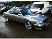 Lexus ls400 ls 400 VIP jdm drift modified v8