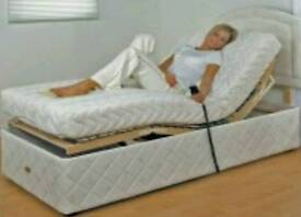 Electric bed frame