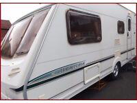 Swift Abbey 4 Berth Luxury Touring Caravan Ace Sterling Group.