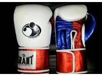 new customized leather grant boxing gloves available in all oz