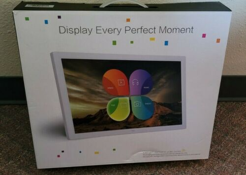"""15.4"""" Digital Photo Frame * Display Every Perfect Moment * Photos, Commercial"""