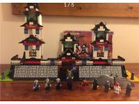 Lego ninja fortress 6093 retired set