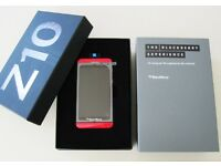 BlackBerry Z10 Red for sale BRAND NEW ....unlocked 16 gb.....SPECIAL EDITION