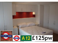 Double Room ***£125 per week*** CENTRAL LINE