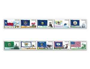 Scott-4323-4332-FLAGS-OF-OUR-NATION-SET-6-10-STAMPS